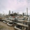 The oil refinery has created an excessive amount of groundwater pollution